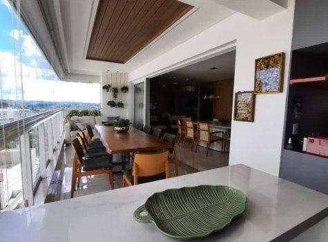 Apartamento com varanda gourmet-setor Bueno