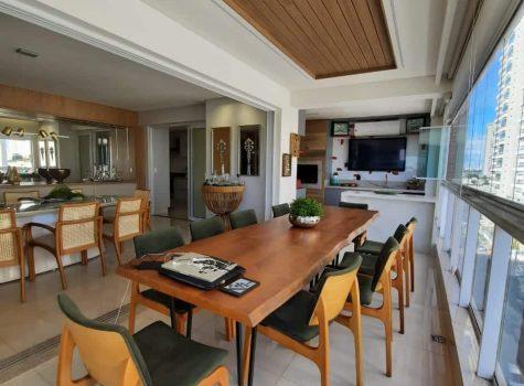 Apartamento com varanda gourmet- setor Bueno